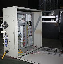 Pneumatic control Allen Bradley Micrologix PLC & valve manifolds & Rittal enclos