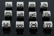 12 Sternzeichen Tierkreiszeichen Anhänger für Ketten Horoskop Perlen - Auswahl