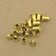 M0.9 M1.3 M1.5 M1.7 M2 Brass Vias Rivet Nuts Through Hole Rivets Hollow Grommets