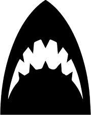 Jaws vinyl decal sticker horror movie 70's retro