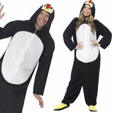 Adult Penguin Jumpsuit Christmas Party Festive Fancy Dress Costume Smiffys 23632