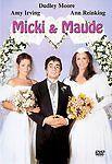 Micki and Maude (DVD, 2003) Like New - Rare!
