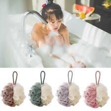 Loofah Bath Shower Sponge Pouf Mesh Ball Exfoliating Premium Scrubber Bathroom