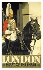 Vintage Ferrocarril carteles: Londres el corazón del imperio: A2 y A3 (202)