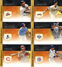 "2012 TOPPS  BASEBALL SER.#2 ""GOLDEN MOMENTS""     PICK YOUR OWN 10 CARD LOT"