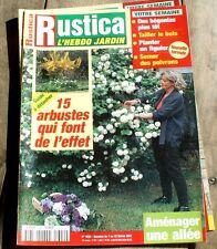 RUSTICA 1624 beaux arbustes+ aménager une allée + tailler le buis + bégonia