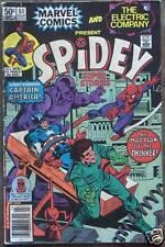 MARVEL COMIC #51 SPIDEY Captain America Comics 1981