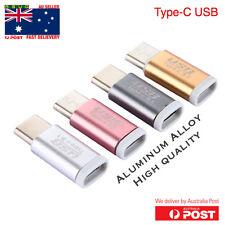 Aluminium USB 3.1 Type-C Male to Micro USB Female Converter USB-C Cable Adapter