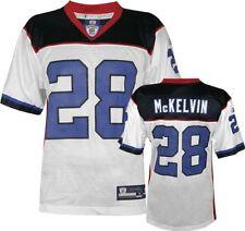 NFL Football Maillot Jersey Buffalo Bill Leodis McKelvin Nº 28 white