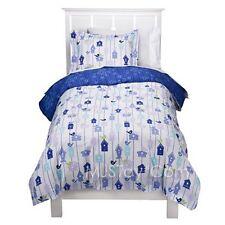 NEW CIRCO Blossom Birdhouse Blue Duvet Cover and Standard Shams Set