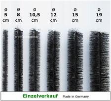 Dachrinnenbürste Rinnenraupe Größe wählbar, Laubschutz Marderschutz Photovoltaik