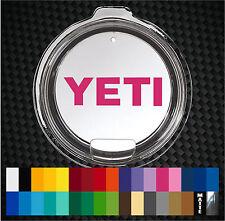 Custom Color Decal inlay for YETI 30 oz Rambler Tumbler Lid Sticker