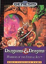Dungeons & Dragons: Warriors of the Eternal Sun (Sega Genesis, 1992)