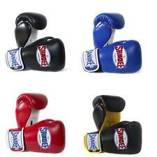 Sandee Kids Boxing Gloves Blue Red Black 4oz 6oz 8oz Muay Thai Boxing Kickboxing