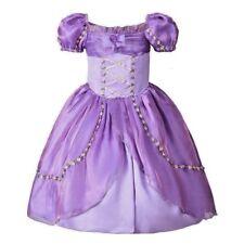 2018 Girls Rapunzel Formal Wedding Princess Party Birthday Dress Costume K30