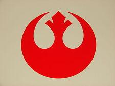 """Rebel Alliance Logo Vinyl Decal Sticker Star Wars RED 2"""""""