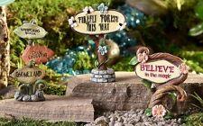 Miniature Sign Glow-in the-Dark 700364 Fairy Garden Choose Your Favorite