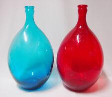 Art Glass floor/table vase home Decor Blue / Red colour Brand New 24cm*47cm