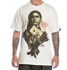 Sullen Clothing Lettre Love Tatouage Encré Femme Crâne Gothique Punk T Shirt