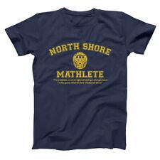 North Shore Mathlete  Funny Mean Girls Team Movie Navy Basic Men's T-Shirt