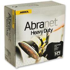 Mirka Abranet HD Heavy Duty Abrasive Sanding Discs - 150mm Box 25 - ALL GRITS