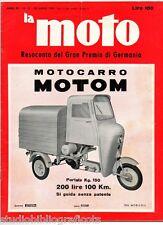 La Moto n21-1960 MV-Agusta Gilera 150 Norton Mival 125