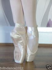 Sansha Prince/Infanta Ballet Danse Satin Pointe Chaussures-NEUF