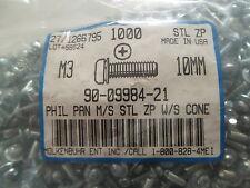 Schrauben M3 x 10mm PHIL PAN M/S STL ZP W/S CONE *50 Stück*