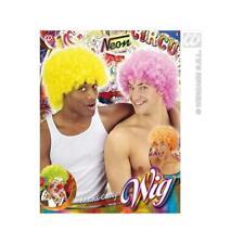 Neonfarbene Clownsperücke Perücke Clown neoen Fasching Kostüm Zirkus Zubehör