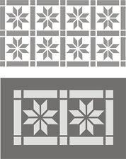 Wandschablone, Dekorschablone, Malerschablonen, Wanddekor, Fries, Flächenmuster1