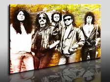 Leinwandbilder Deep Purple Leinwandbild Kunstdruck auf Leinwand Bilder Poster,