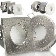Einbaustrahler 50mm flach Bad LED Feuchtraum IP65 230V Außen 5W dimmbar AQB-MER