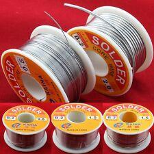 63/37 T/Lead Rosin Core Solder Wire Welding 3.5 OZ Spool 45FT FLUX 2.0%Reel 100g