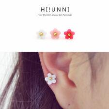 16g Flower cartilage earrings, tragus helix conch ear stud piercing jewelry,1 pc