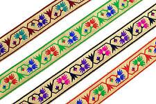 01Yd/5YD Jacquard Trim 3.3 cm wide  Border Ribbon Sew Embroidered T300-A