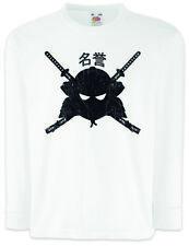 SAMURAI MEIYO Kinder Langarm T-Shirt Samurai Ninja Japan Sword Dakana Armor