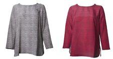 MARINA RINALDI Women's Batavia Pure Silk Printed Blouse $670 NWT