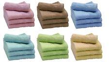 Flannel Face Cloth Bath Towels Washcloths For Sale Ebay