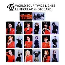 TWICE - WORLD TOUR 2019 TWICE LIGHTS - LENTICULAR PHOTOCARD - MEMBER SET