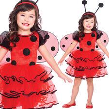 Kids Ladybird Costume Insect Fancy Dress