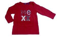 MEXX Camiseta Manga Larga Niñas sangria Talla 86