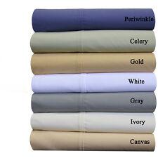 Abripedic Percale,Crispy Soft 100% Breathable Cotton Pillowcases