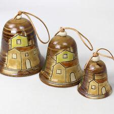 Klang-Glocken - Glocke 3-Größen - Klangglocken - klingende Glöckchen aus Keramik