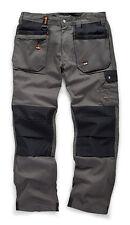 Scruffs Worker Plus Pantaloni Lavoro Grafite Grigio (tutte le taglie) Men's trade Workwear