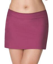 Curvy Kate CS3555 Jetty Bikini Swim Skirt in Berry