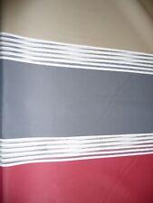 Dekostoff Vorhangstoff Stoff Design Streifen Ausbrenner in 4 Farben 140cm breit