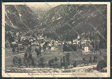 Sondrio San Martino Masino cartolina C4515 SZA