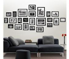 23 Piece Multi-Picture Collage Photo Frame Frames Aperture Art Deco Wall DIY Set