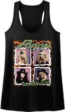 Poison Talk Dirty To Me Women's Tank Top T Shirt Rock Music