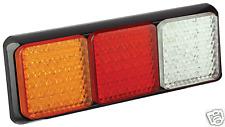 PAIR LED COMBO LIGHTS TRUCK TRAILER CARAVAN UTE 80BARW